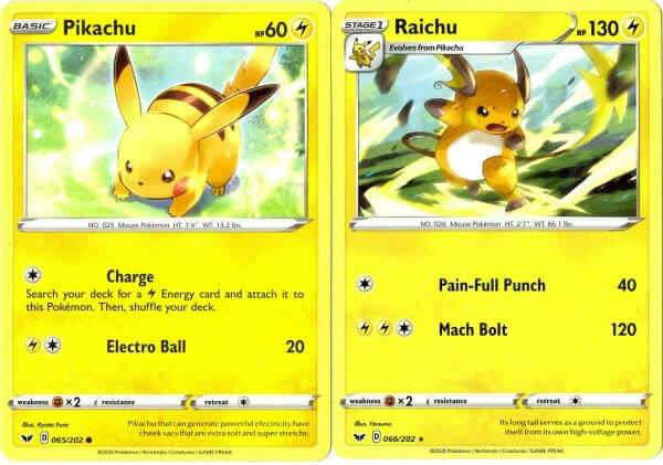 Pikachu evolution