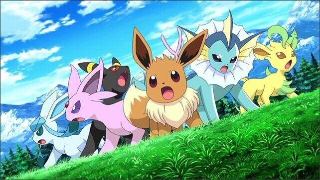 All eevee evolution in Pokemon GO