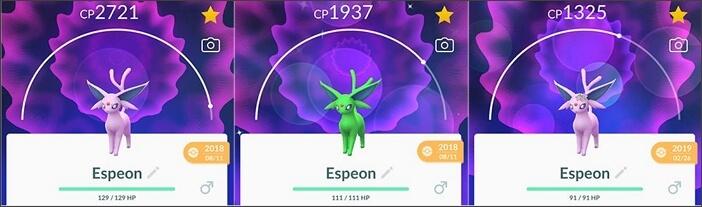 espeon family