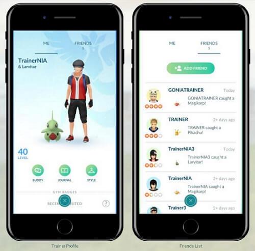 share friend code in Pokemon GO
