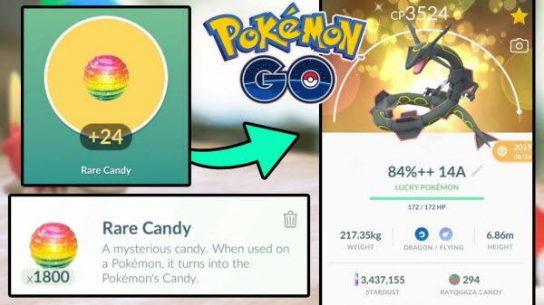 get rare candies