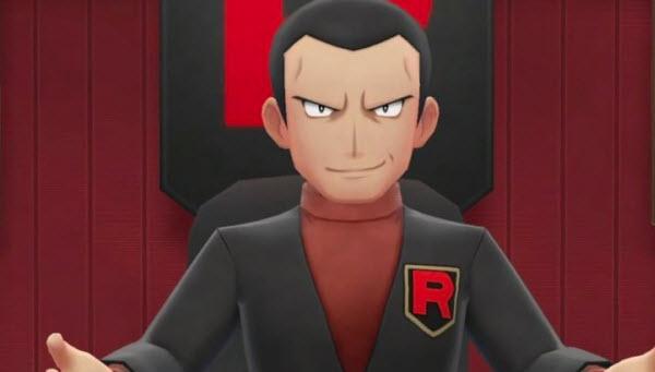 Giovanni from Pokemon