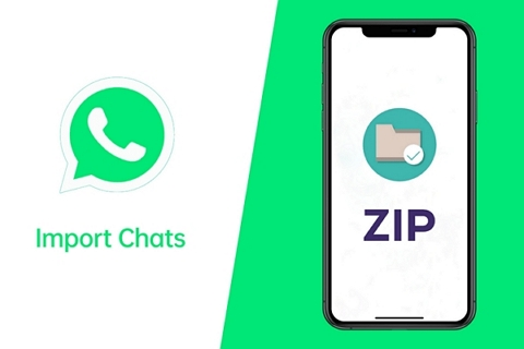 import whatsapp chats from zip file
