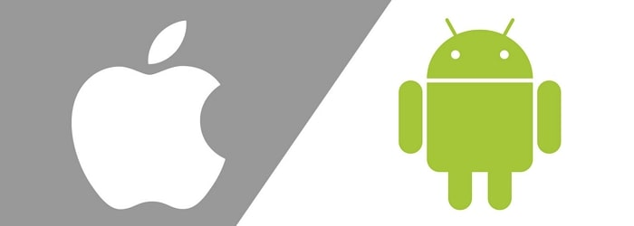 Android and iOS OS