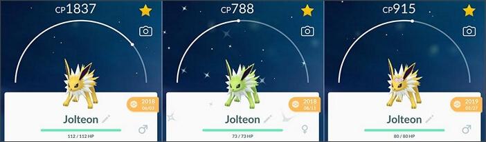 jolteon family