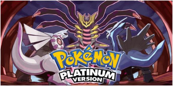legendaries in Pokemon Platinum