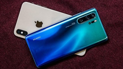 transfer most data from Huawei to iPhone