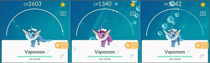 vaporeon family