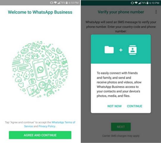 whatsapp business verificationt