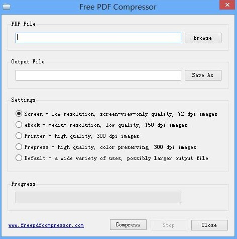 adobe pdf compressing windows alternative