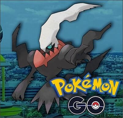 Darkrai in Pokemon GO