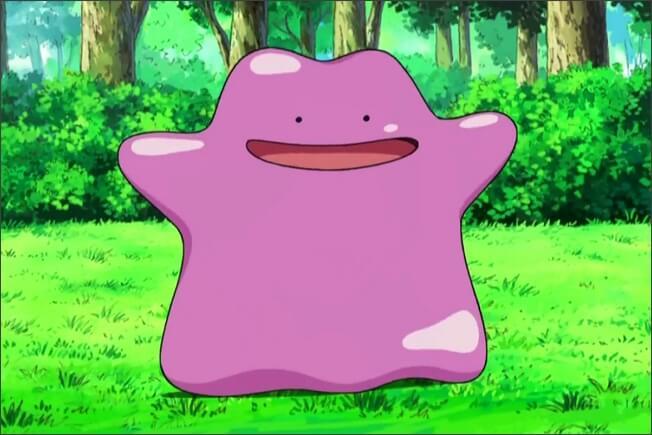 Ditto in Pokemon GO