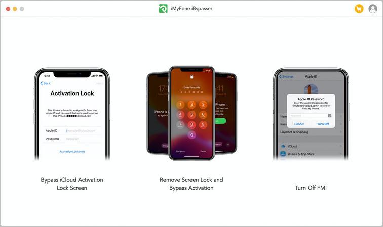 iMyFone iBypasser 3つの機能