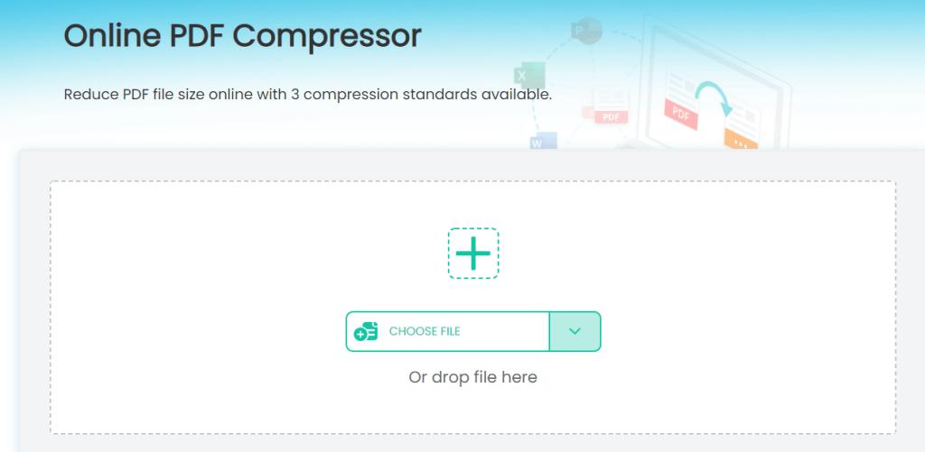 imyfone online pdf compressor import file