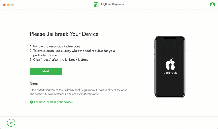 Jailbreak device