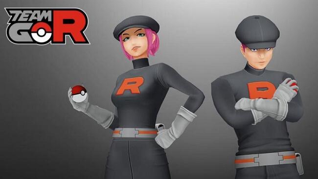Team Rocket in Pokémon GO