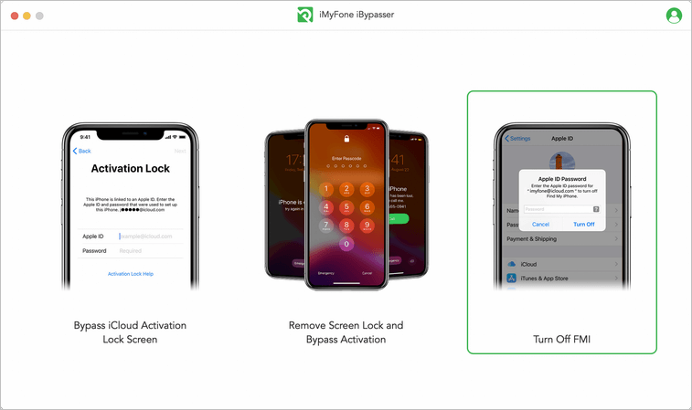 launch iMyFone iBypasser