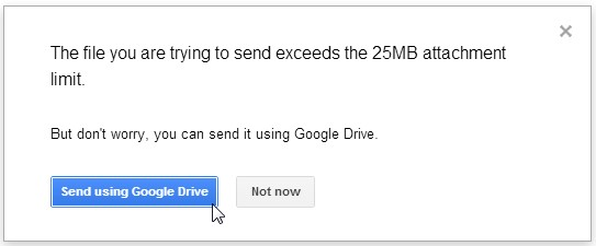 send pdf email with google drive
