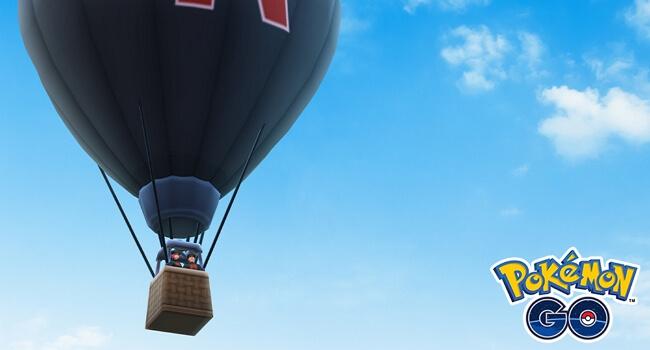 Team Go Rocket Hot Air Balloons