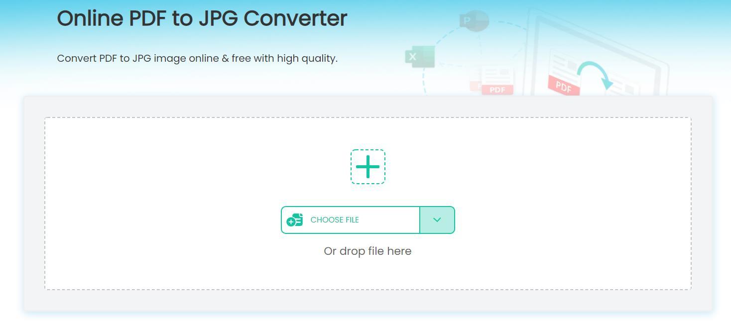 upload to imyfone online pdf converter