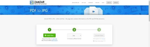 zamzar convert pdf to jpg online
