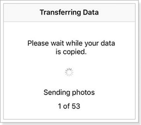 Copy My Data issues