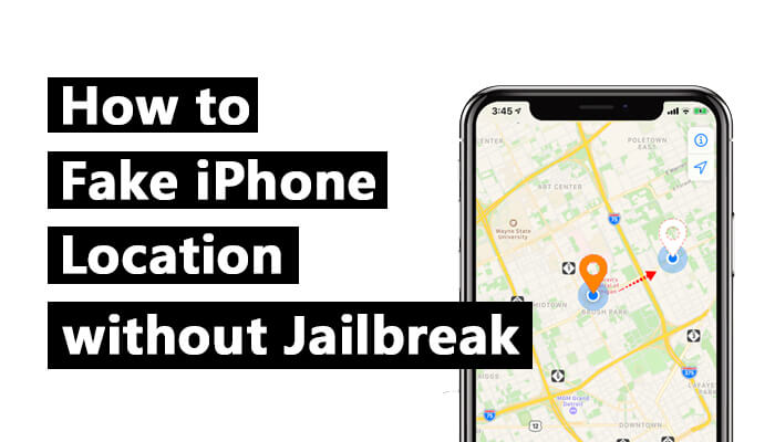 fake iPhone Location without jailbreak