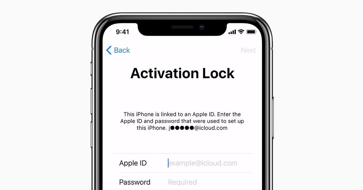 iPhone iCloud lock