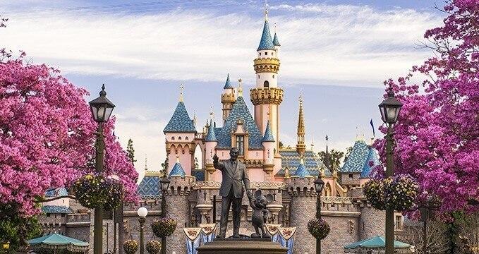 Disneyland in Anabeim
