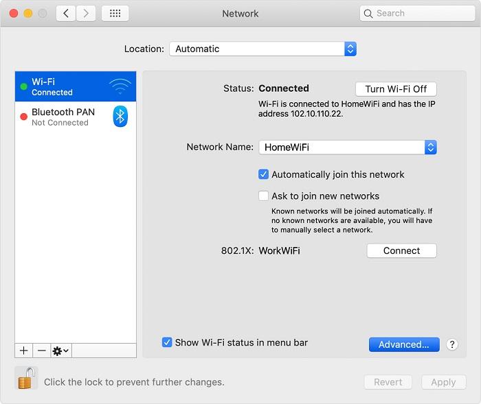 delete wifi networks from preferred networks list on mac