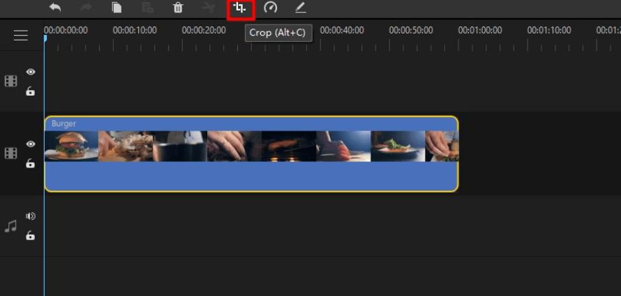 filme crop video