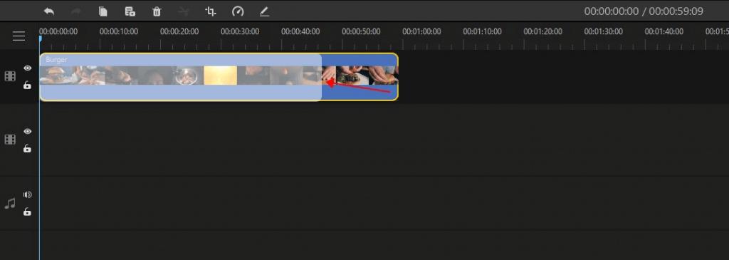 filme drag video to timeline