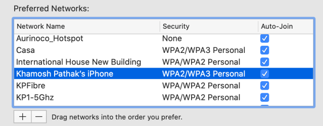 prioritize your wi fi networks on mac