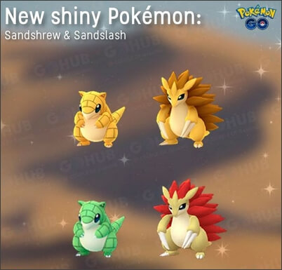 Shiny Sandslash