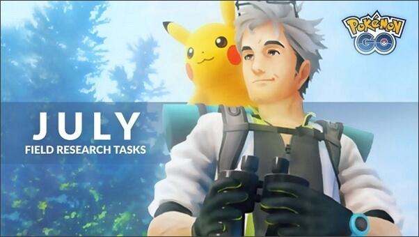 Pokémon GO's field research tasks