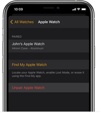 unpair-watch