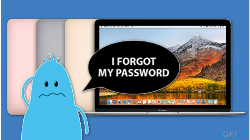 forgot mac password