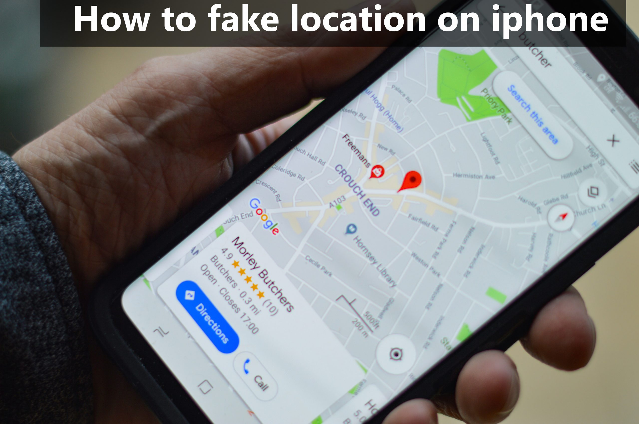 How to Fake Location on iphone