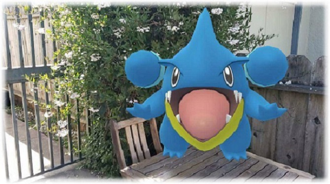 surprised gible community day
