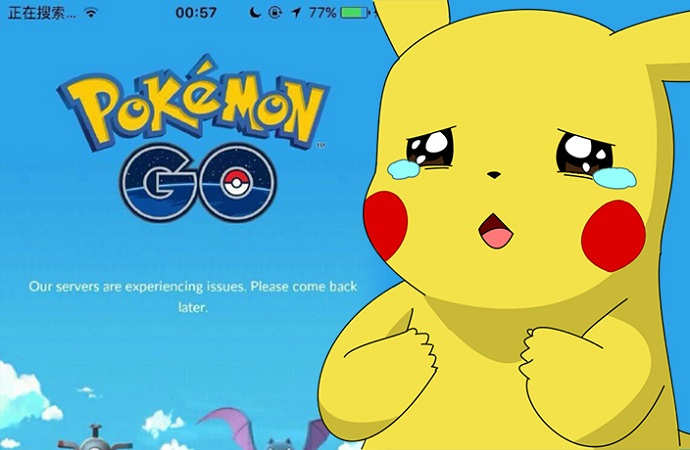 problem pokemon go