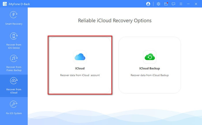 recover contacts from iCloud account