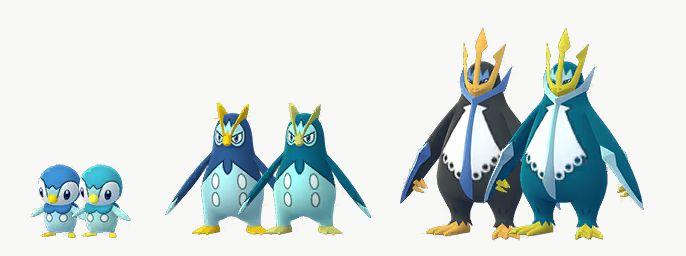 shiny piplup evolution