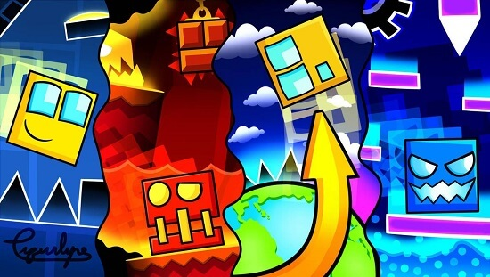 geometry dash feature