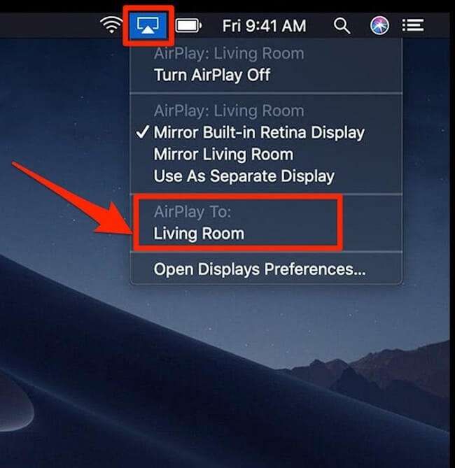 airplay living room