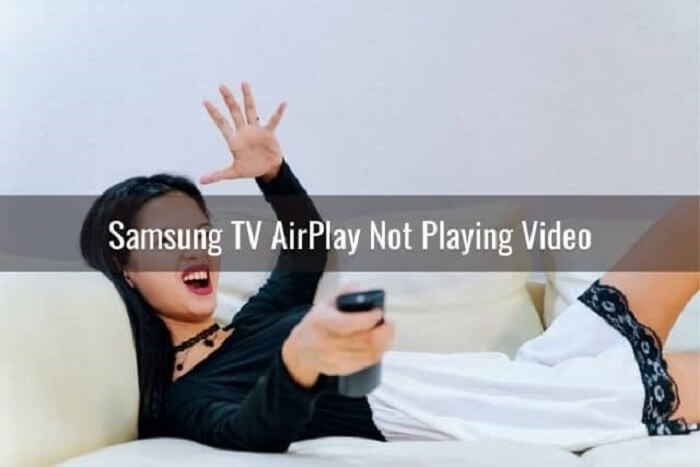 airplay no video