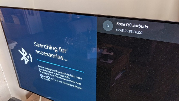 bluetooth connect to tv
