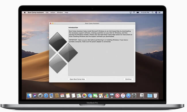 bootcamp run macs1
