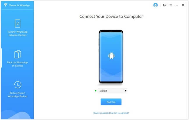 connect your device to pc
