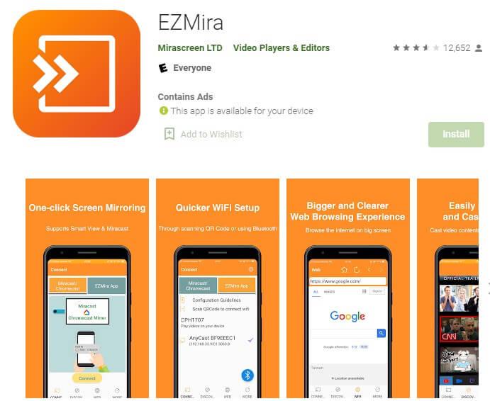 EZMira app