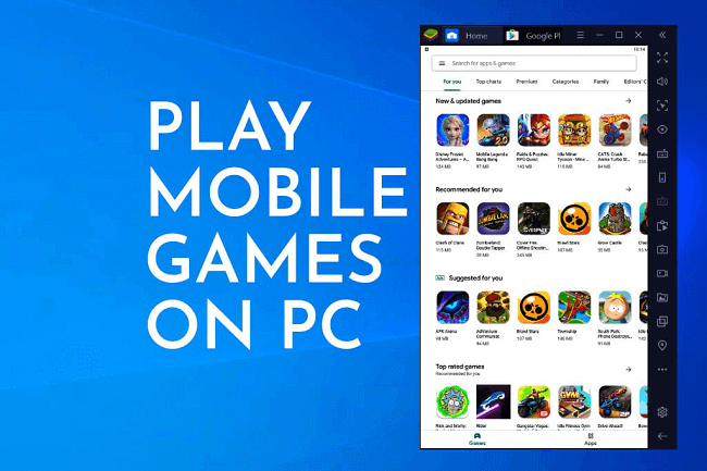 how to play mobile game on pc